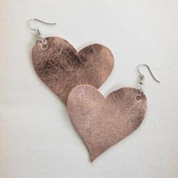 sydän korvakorut