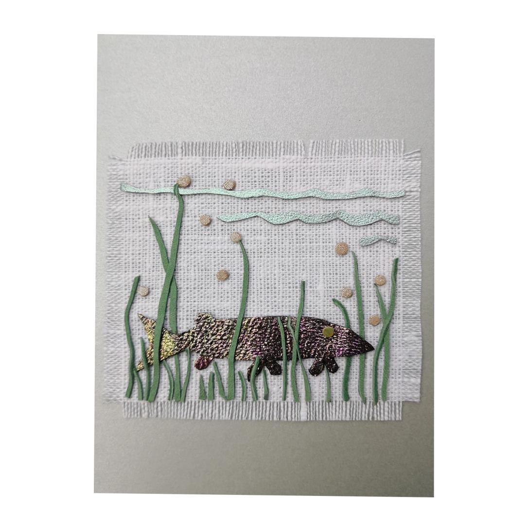 Isänpäiväkortti kala