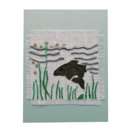 Isänpäiväkortti kalakortti kuha