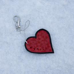 Punainen sydänkoru