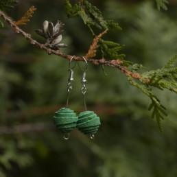 Vihreät korvakorut